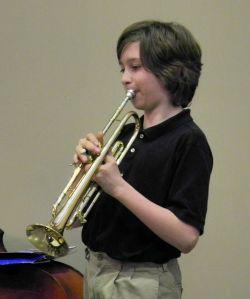 Fourteen sounds his trumpet