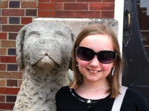 Eleven. Her future's so bright ...