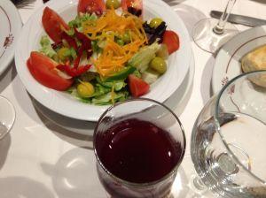 Salad, Sangria ...